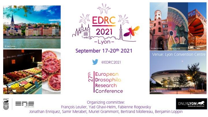 Save the dates Lyon EDRC 2021
